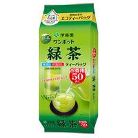 【水出し可】伊藤園 ワンポット緑茶 ティーバッグ 1袋(50バッグ入)