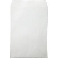 ムトウユニパック ナチュラルカラー封筒 角2(A4) グレー テープ付 500枚(100枚×5袋)