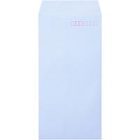ムトウユニパック ナチュラルカラー封筒 長3 アクア テープ付 1000枚(100枚×10袋)