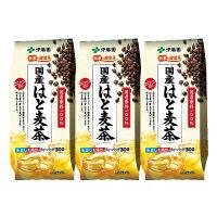 【水出し可】伊藤園 国産はと麦茶ティーバッグ 1セット(90バッグ:30バッグ入×3袋)