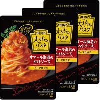 ハインツ 大人むけのパスタ オマール海老のトマトソース スープ仕立て 180g 1セット(3個入)