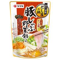 ヤマキ 豚しゃぶ野菜鍋つゆ 750g