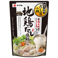 ヤマキ 軍鶏系地鶏だし塩鍋つゆ 700g