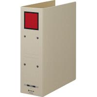 キングジム 保存ファイルドッチ A4タテ とじ厚80mm 背幅94mm 赤 4078 1セット(3冊:1冊×3)