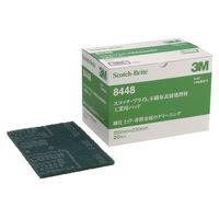 スリーエム ジャパン 3M スコッチ・ブライトTM工業用パッド 8448 S/B 1箱(20枚入)