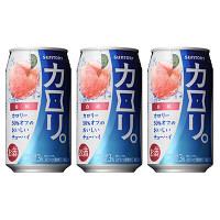 カロリ。 白桃 350ml 3缶