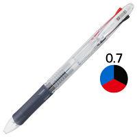 3色ボールペン クリップオン スリム3C 0.7mm 透明軸 B3A5-C ゼブラ