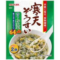【かんてんぱぱ】寒天ぞうすい のり野沢菜