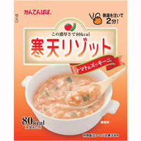かんてんぱぱ 寒天リゾット トマト&ズッキーニ 1個(3食入)