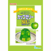 かんてんぱぱ カップゼリー80℃ 青りんご味 1個(2袋入)