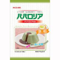かんてんぱぱ ババロリア 抹茶 1個(250g)