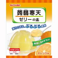 【かんてんぱぱ】蒟蒻寒天ゼリー オレンジ