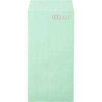 ムトウユニパック ナチュラルカラー封筒 長3 グリーン 300枚(100枚×3袋)