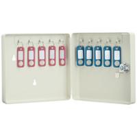 カール事務器 キーボックス(コンパクトタイプ) 10個吊 CKB-C10 1セット