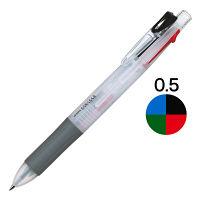ゼブラ ゲルインク4色ボールペン サラサ4 白軸 J4J1-W 1セット(5本:1本×5)