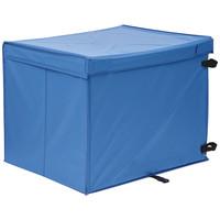 金沢車輌 屋外用ボックス フタ一体型 大 BOX-307D 1個