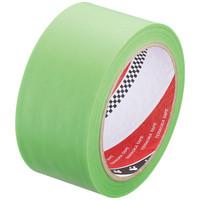 寺岡製作所 養生テープ P-カットテープα No.4100 若葉色 幅50mm×長さ25m巻 1セット(5巻:1巻×5)