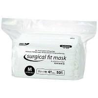 サージカルフィットマスク4層式M 50枚