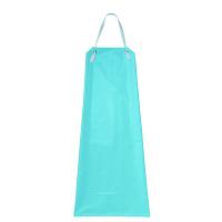 KAZEN 防水胸当てエプロン ブルー フリー APK3175