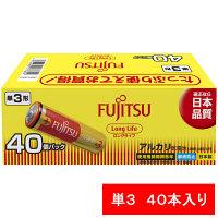FDK アルカリ乾電池LongLife単3 LR6FL(40S) 1箱(40本入)