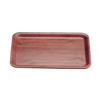 木製スナックトレー角(ウォールナット) 3020WN PTL8601 1セット(3枚入) TKG サイトーウッド (取寄品)