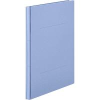 アスクル 背幅伸縮ファイル(紙製) A4タテ ブルー 50冊