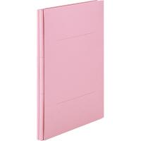 アスクル 背幅伸縮ファイル(紙製) A4タテ ピンク 50冊
