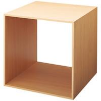 ストア・エキスプレス 木製ディスプレイボックス 40cm角 ナチュラル 12611-46
