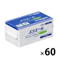 大王製紙 エリエールタオル スマートシングル 小小判 703360 1箱(60個入)