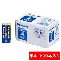 パナソニック アルカリ乾電池 エボルタ 単4形 LR03EJN/40S 1セット(200本入)