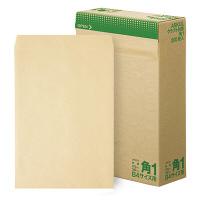 アスクル オリジナルクラフト封筒 角1 茶 1200枚(200枚×6箱)