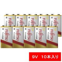 FDK アルカリ乾電池Premium9V形 6LR61FP(S) 1セット(10本)