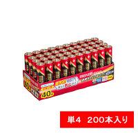日立マクセル アルカリ乾電池 ボルテージ 単4形 LR03(T)40P 1セット(200本)