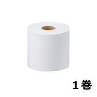 【感熱紙】キッチンプリンタ用ロール 幅80mm 印地面表巻 1巻