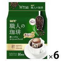 【ドリップコーヒー】UCC上島珈琲 職人の珈琲ドリップコーヒースペシャルブレンド 1セット(6パック×18袋入)