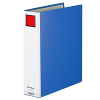 キングジム ドッチファイルエコノミー とじ厚50mm 青 A4タテ 1075Nアオ 1箱(10冊入)