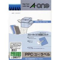 エーワン PPCラベルシール 厚口 表示・宛名ラベル コピー用 マット紙 白 A4 ノーカット1面 1セット:1袋(20シート入)×2袋 28377(取寄品)