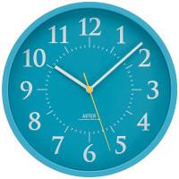 Lemnos(タカタレムノス) シンプル電波時計 [電波 掛け 時計] ライトブルー AS15-01W 1個