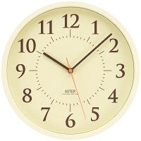 Lemnos(タカタレムノス) シンプル電波時計 [電波 掛け 時計] ベージュ AS15-01W BG 1個