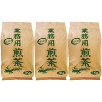 大井川茶園 業務用 煎茶 1セット(1kg×3袋)