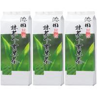 大井川茶園 徳用 抹茶入り玄米茶 1セット(1kg×3袋)