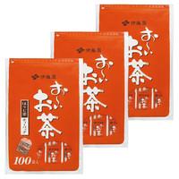 伊藤園 おーいお茶 ほうじ茶ティーバッグ 1セット(300バッグ:100バッグ入×3袋)