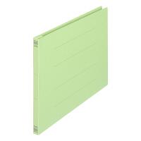 プラス フラットファイル樹脂製とじ具 A4ヨコ グリーン No.022N 30冊