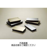 SRDSL型メタルケース トップパネルシャンパンゴールド/ フレーム・底板黒/ ゴム足/ゴールド SRDSL-8HG 1台 (直送品)