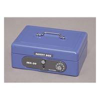アイリスオーヤマ(IRIS OHYAMA) 手提げ金庫 SBX-A6 ブルー 1個 (直送品)