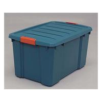 アイリスオーヤマ(IRIS OHYAMA) バックルBOX NSK-450 グリーン/オレンジ 1セット(6個) (直送品)