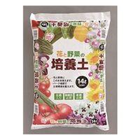 アイリスオーヤマ(IRIS OHYAMA) 花と野菜の培養土 14L 4905009462469 1袋(直送品)