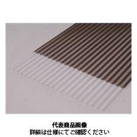 アイリスオーヤマ(IRIS OHYAMA) NONJISポリカ波板 6尺 NIPC-607NJB ブロンズ 1セット(10枚) (直送品)