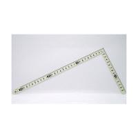 シンワ測定 曲尺小型 ホワイトサンデー 白色 裏面角目 黒目盛 呼寸 33×15cm 12476 1本 (取寄品)