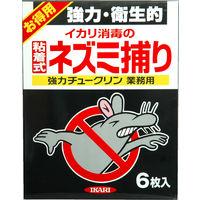 イカリ消毒 強力チュークリン 業務用 6枚入 245035 (直送品)